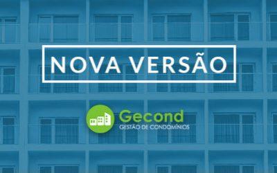Nova Versão Gecond – Software De Gestão De Condomínios