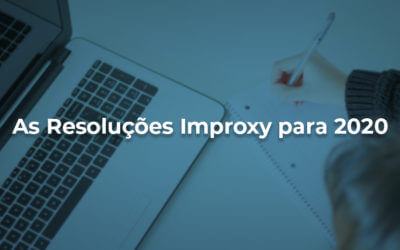 As resoluções Improxy para 2020