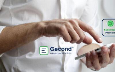 Gecond, o meu condomínio – Novas funcionalidades Premium