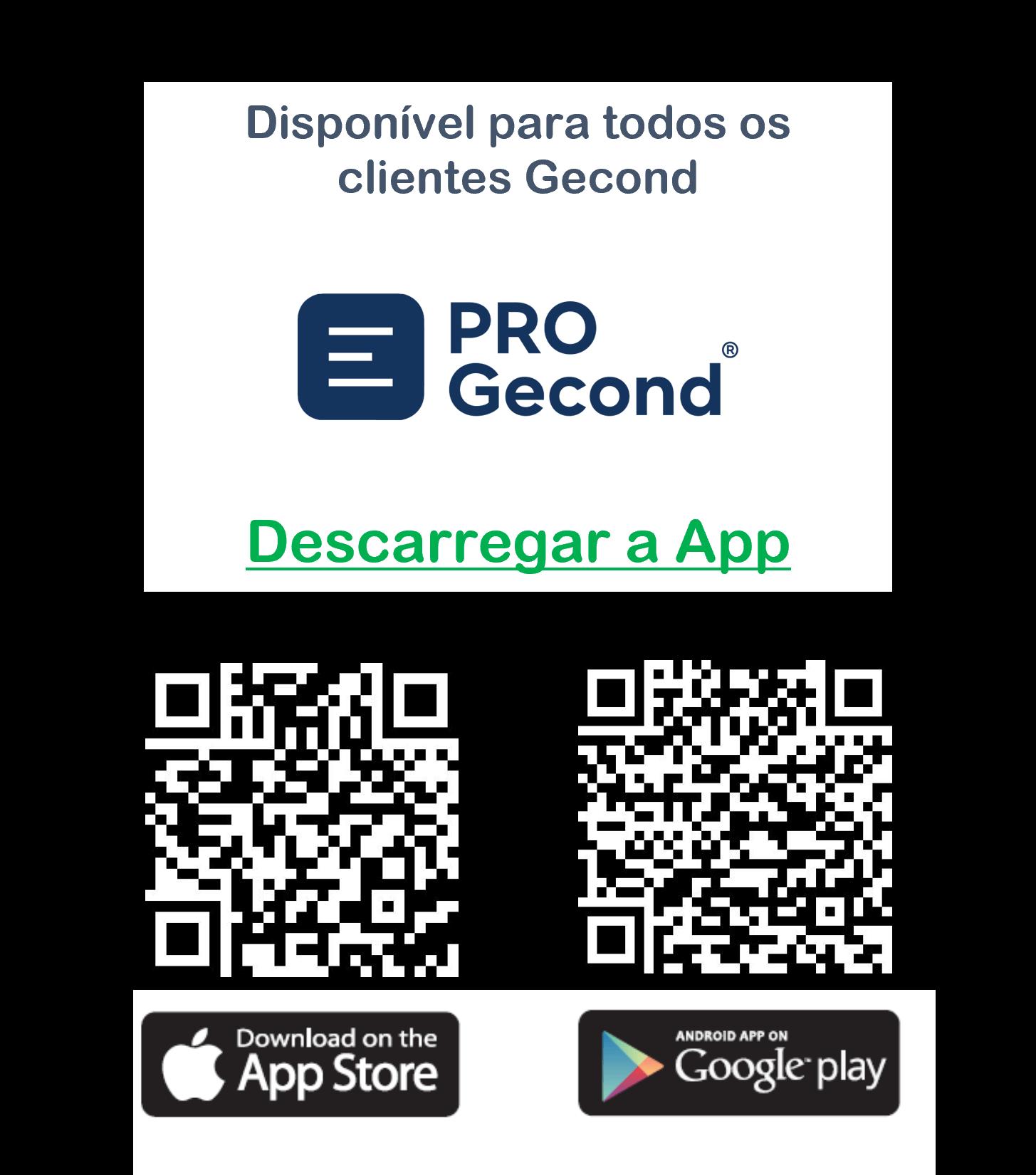 App PRO Gecond QR Codes